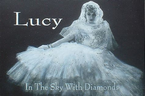 film lucy in the sky lucy in the sky with diamonds by lou mcafee