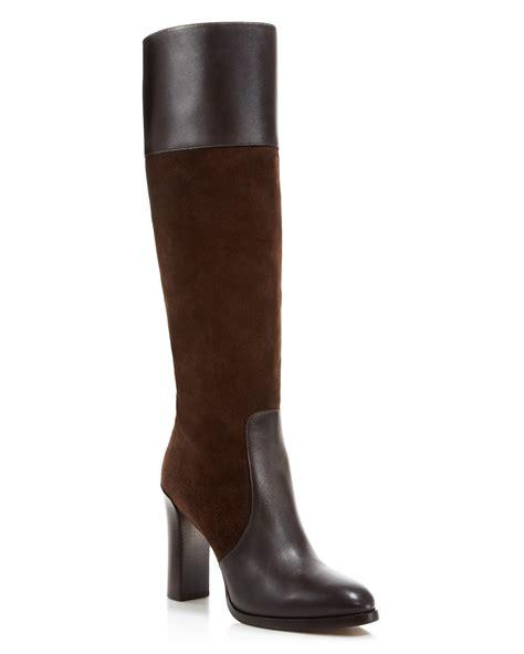michael kors daryl high shaft high heel boots bloomingdale s