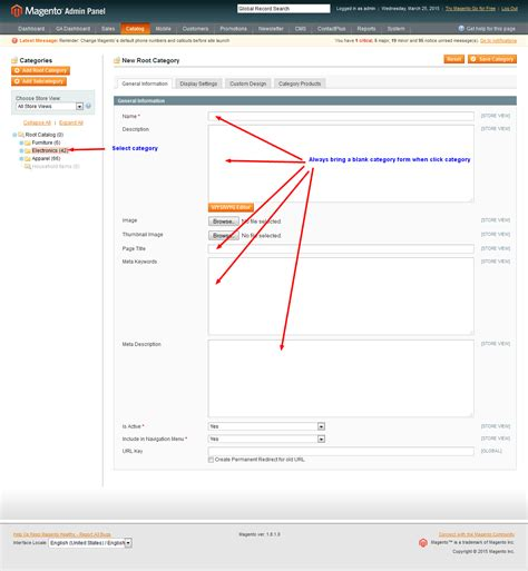 magento category layout update not working magento edit category issue in admin after updating