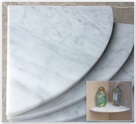 marble shower corner shelf carrara milano natural by marblezone