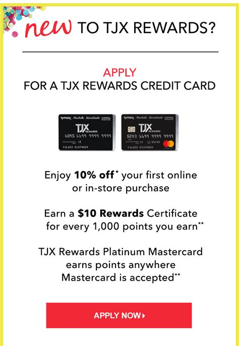 tj maxx credit card make a payment tjmaxx application
