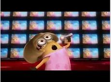 Minion singing Copacabanain a karaoke.mp4 - YouTube Minion Despicable Me 2