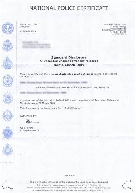 certificate australia template certificate exle image collections