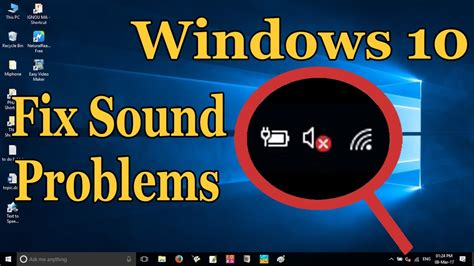 how to fix sound problems how to fix sound or audio problems on windows 10