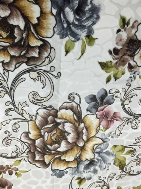 floral print upholstery fabric 100 polyester floral print velvet fabric for upholstery