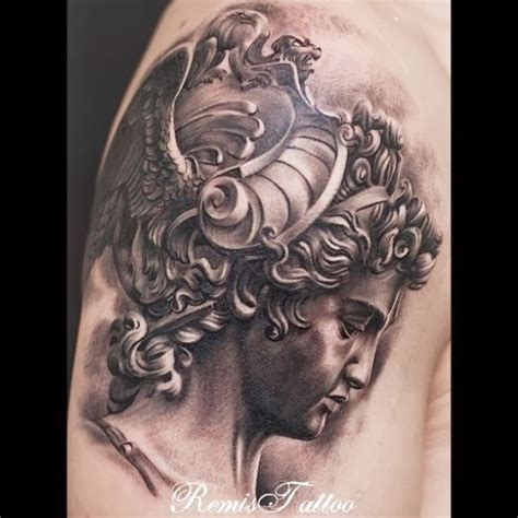 sad athena tattoo art tattoos art