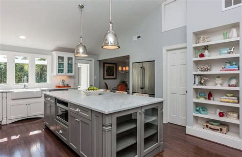 Designing A Kitchen Island by 30 Gray And White Kitchen Ideas Designing Idea