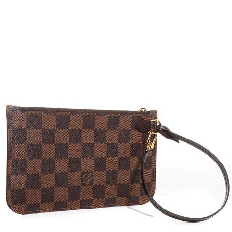 Louis Vuitton Pm Damier Ebene louis vuitton damier ebene neverfull pm pochette 79434