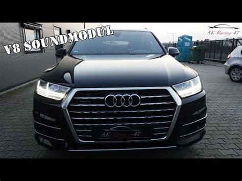 Audi Soundmodul by V8 Soundmodul W App Audi Q7 Active Diesel Sound Ak