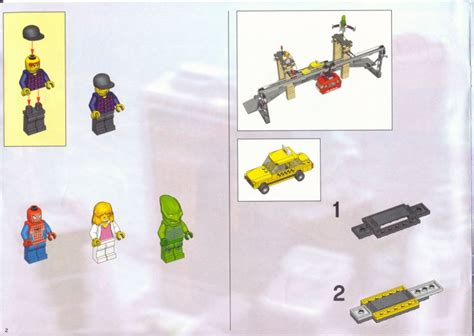 stud io building instructions lego the final showdown instructions 4852 studio spiderman