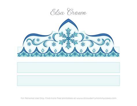 coronas para imprimir 5 coronas de disney frozen para imprimir y decorar en casa