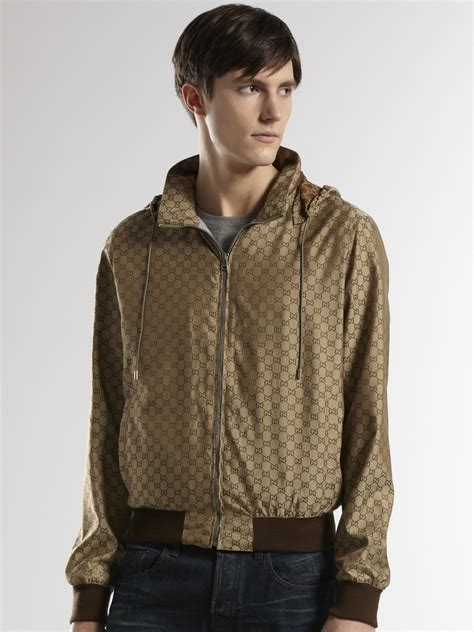 Gucci Jacket by Gucci Gg Kway Jacket In Green For Lyst