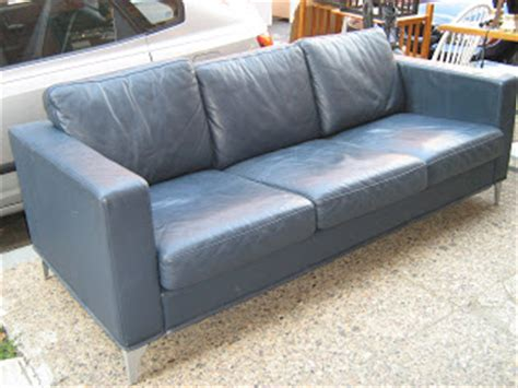 slate blue couch uhuru furniture collectibles modern slate blue leather