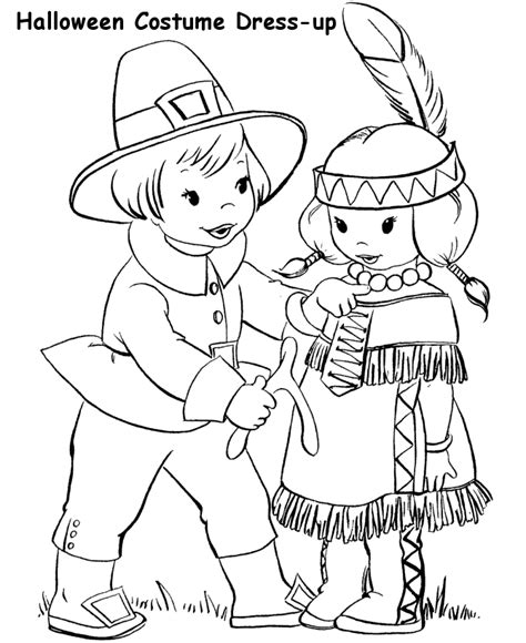 pilgrim indian coloring page pilgrims and indians coloring pages free printable