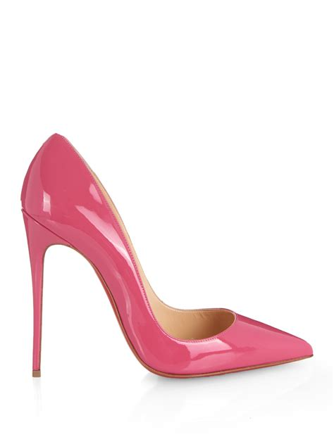 christian louboutin so kate patent in pink lyst