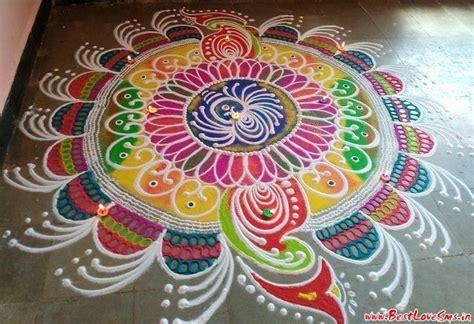 design rangoli free hand indian festive season 2017 simple free hand rangoli