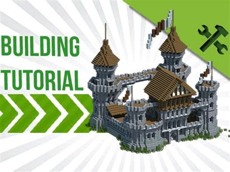 how to build a building minecraft how to build a medieval castle build tutorial youtube