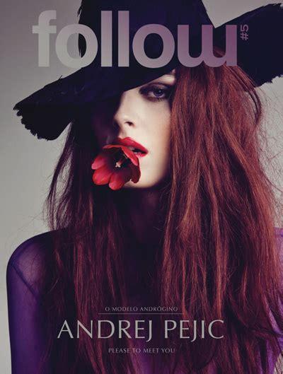 design magazine tiago krusse andrej pejic by tiago molinos for follow magazine