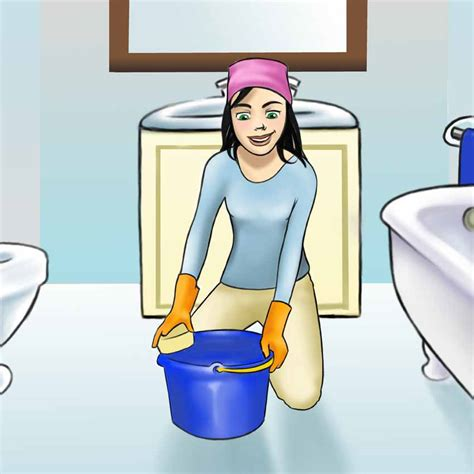 Cleaning Bathroom by Cleaning Bathroom Jpg Cliparts Co
