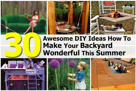 how to throw a summer backyard 30 awesome diy ideas how to make your backyard wonderful