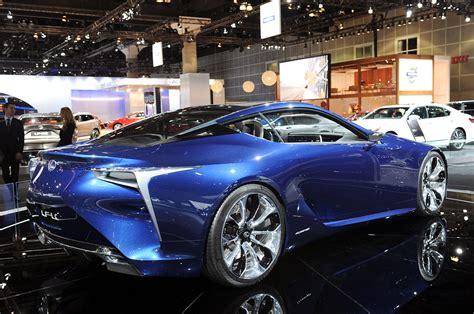 lexus lf lc blue lexus lc 500 lf lc concept asphalte ch