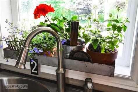 indoor window box healing and calming sensation with window planter box
