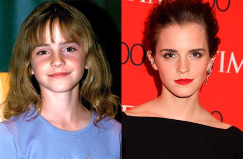 emma watson then and now the child stars of harry potter then and now goodtoknow
