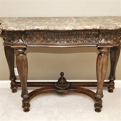 marble top sofa table marble top console table ideas console table beautiful