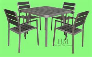 Sets arm 5 piece patio outdoor furniture patio dining set commercial