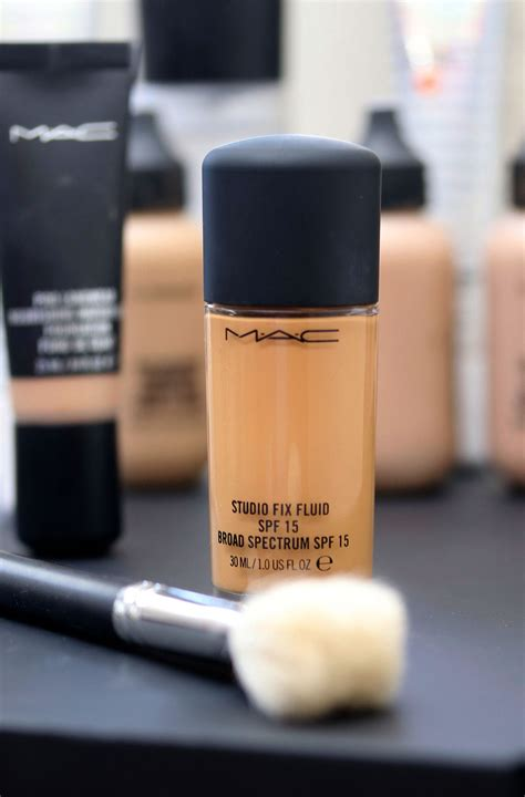 Mac Studio Fix Fluid Foundation mac cosmetics mac makeup reviews pictures and swatches