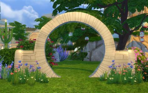 mill wedding arch  biguglyhag  simsworkshop sims
