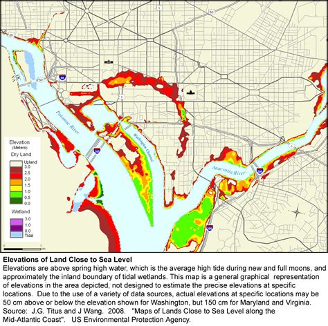 washington dc rivers map lost rivers of washington greater greater washington