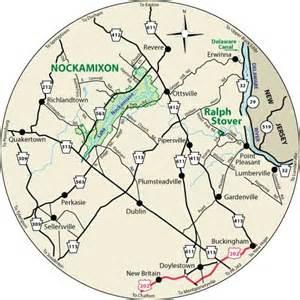Nockamixon State Park Map by Pa Dcnr Nockamixon State Park