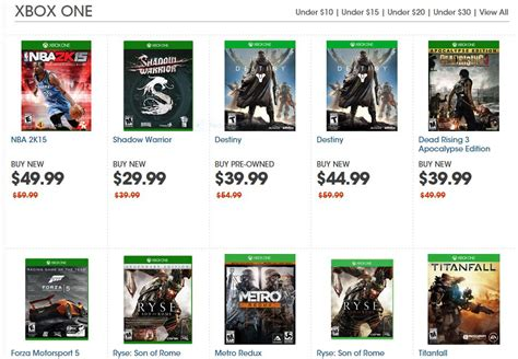 Does Gamestop Sell Xbox Gift Cards - xbox one green monday deals offer big discounts on games including destiny and more