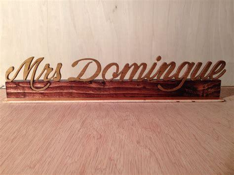 Custom Desk Name Plate by Custom Desk Name Plate Script Name Plate Wood Name Plate