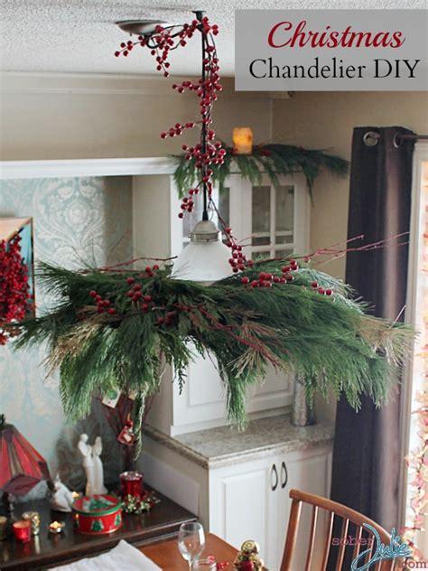 turn  pendant light   christmas chandelier diy
