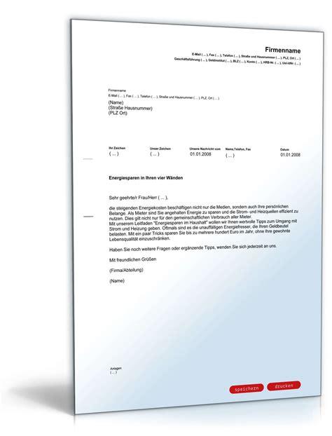Musterbrief K Ndigung Handyvertrag E Plus anschreiben mieter energiespartipps muster zum