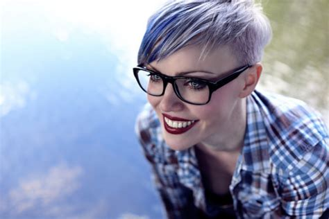 glasses hairstyles tumblr 25 chic short hair photos