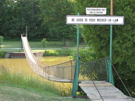 swinging bridge croswell mi 17 best images about caseville michigan on pinterest