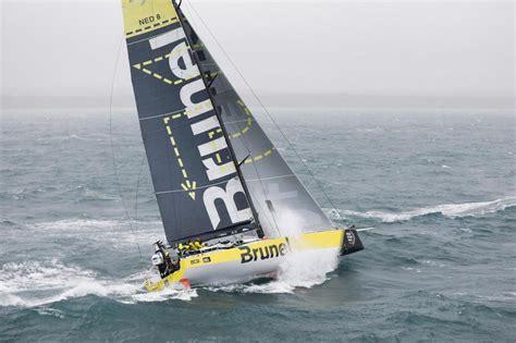 volvo ocean race sailing superstar peter burling joins team brunel