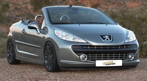 Tieferlegung Peugeot 206 Cc by Preiswertes Fahrwerkstuning F 252 R Den Peugeot 207