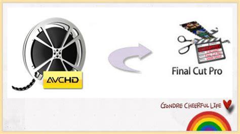 final cut pro video rendering error 50 import edit 50p 60p avchd in final cut pro x on mac