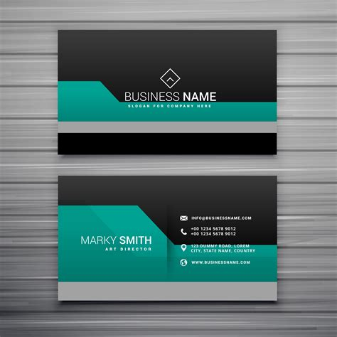 Elegant Business Card Template Design Download Free Vector Art Stock Graphics Images Pixelmator Business Card Template