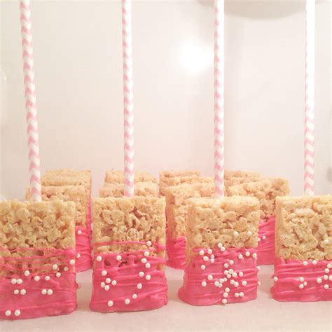 custom baby shower rice krispy treats wedding rice krispy