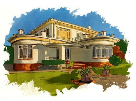 Spanish Mediterranean Style Homes Australian Inter War Architectural Period Verne Gardiner