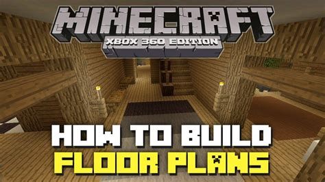 how to build floor minecraft xbox 360 how to build floor plans youtube