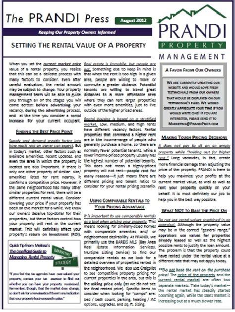 1000 Images About Property Management On Pinterest Real Estate Investor Newsletter Design Property Management Newsletter Templates
