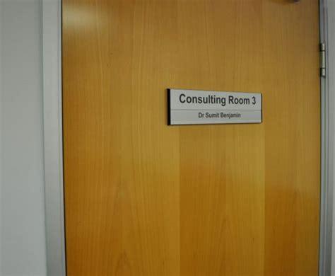 interchangeable aluminium door signs office signs