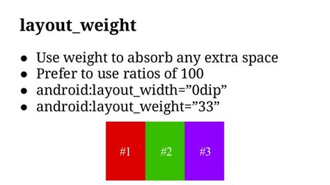 android layout weight attribute android jam rich responsive layouts udacity lesson 5