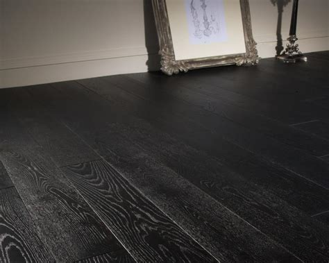 Ted Todd Mono Black Solid Wood Home Flooring   Domestic